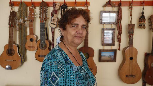 Reconocida etnomusicóloga peruana falleció este domingo 11, a los 66 años. Esta imagen fue tomada en enero del año pasado. (Perú21)