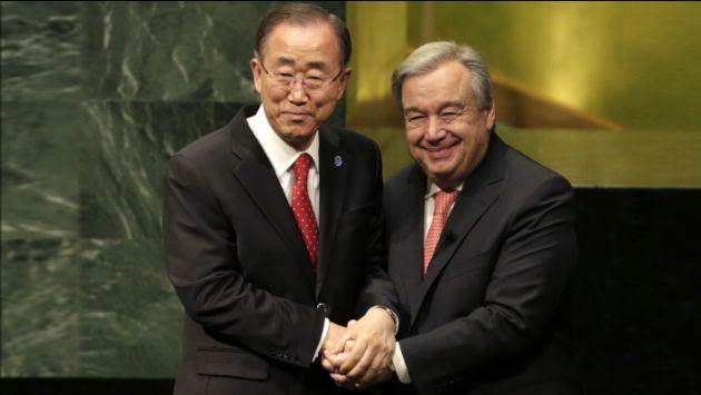 António Guterres juró como nuevo secretario general de la ONU. (AP)