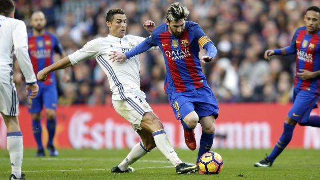 """""""Si jugara con Messi, yo tendría más Balones de Oro que él"""", aseguró Cristiano Ronaldo. (AP)"""