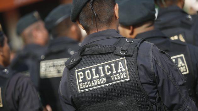 Estrategia. Policía Nacional contará con una nueva estructura y organización para hacer frente al hampa. (Mario Zapata)