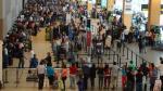 Se registraron 1'382,045 movimientos migratorios en octubre, informó INEI - Noticias de aeropuerto internacional jorge chavez