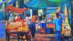 Exposición 'El arte de los mercados', de Sherman Meléndez, será inaugura este jueves - Noticias de juan pardo