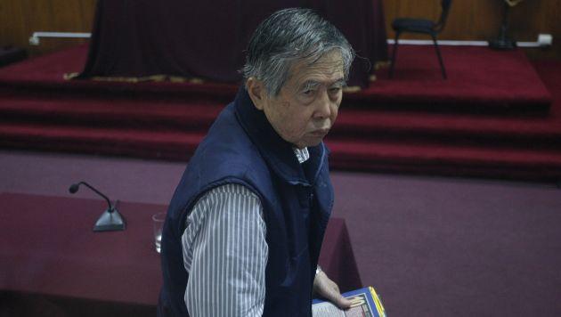 Alberto Fujimori fue traslado a clínica local. (Mario Zapata)