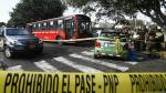 Suspenden a empresa de transportes implicada en choque donde murió rector y resultó herido Alberto Beingolea - Noticias de alvaro jara