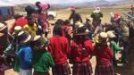 PNP celebra Navidad con niños de las comunidades de Accoito y Ccollana en Cusco [Video] - Noticias de papa noel