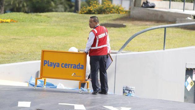 Las áreas comunes de Larcomar aún no estarán disponibles para el público. (Perú21)