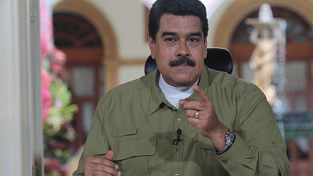 """Nicolás Maduro aseguró que el próximo años será uno """"victorioso"""". (EFE)"""
