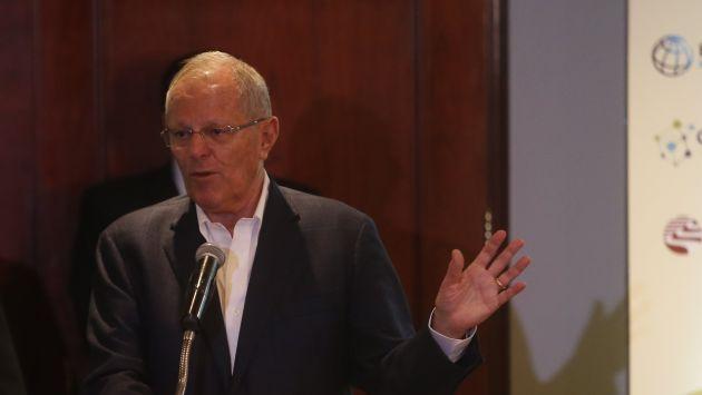 El jefe de Estado dialogará con el excandidato presidencial César Acuña. (Mario Zapata)