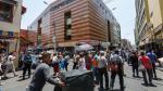 El caos navideño se vive en Mesa Redonda - Noticias de cercado de lima