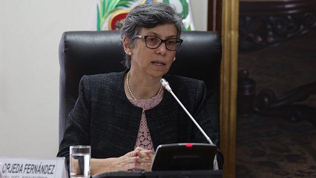Sin respuesta. Gisella Orjeda evitó pronunciarse ante denuncias. (Perú21)