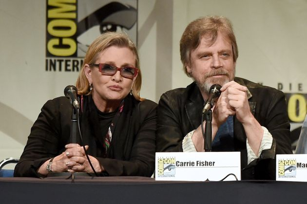 Carrie Fisher murio