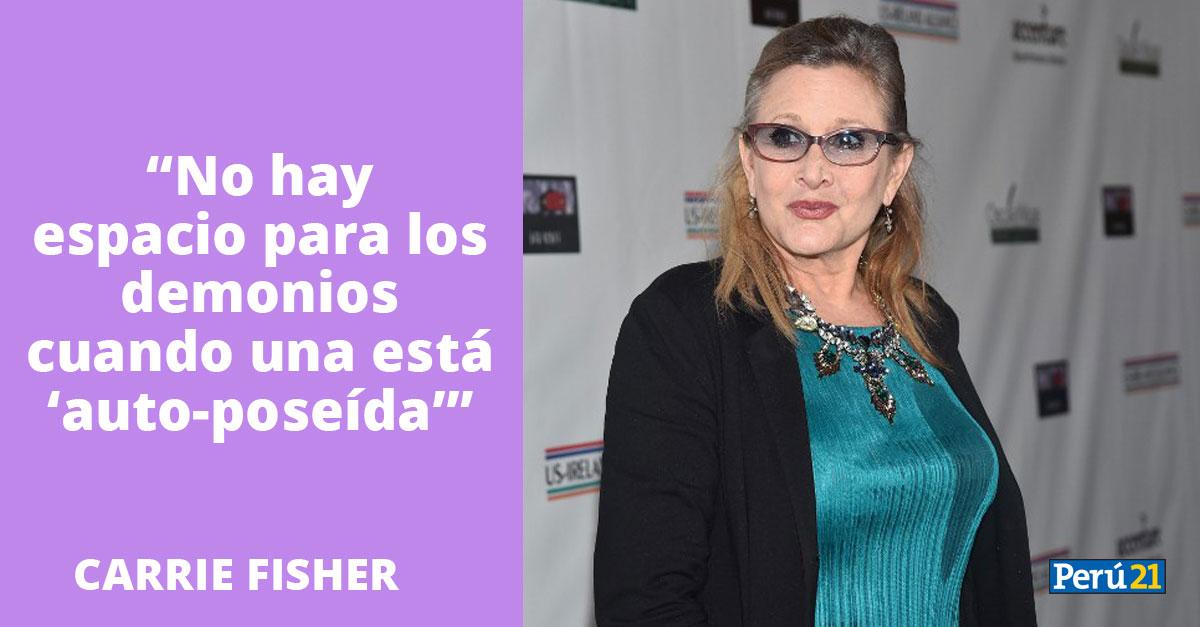 Carrie Fisher 10 Frases Para Recordar A La Eterna Princesa