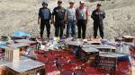 Tacna: Decomisan artefactos pirotécnicos de contrabando al interior de un camión - Noticias de productos pirotécnicos
