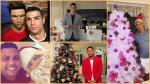 ¿Cómo pasaron Navidad las estrellas del fútbol mundial? - Noticias de real madrid cristiano ronaldo