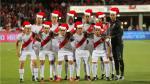 Estos fueron los saludos navideños de los jugadores de la selección peruana - Noticias de edison flores