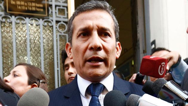 Ollanta Humala será citado en enero. (Piko Tamashiro)