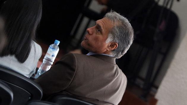 Francisco Boza, ex presidente del IPD. (Anthony Niño de Guzmán)