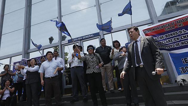 Poder Judicial: Trabajadores suspendieron huelga después de casi 40 días. (Renzo Salazar)