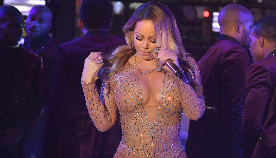 Mariah Carey tuvo una desastrosa presentación en Times Square [Fotos y video]