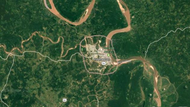 Temblor tuvo una magnitud de 5.8 grados. (Google Maps)
