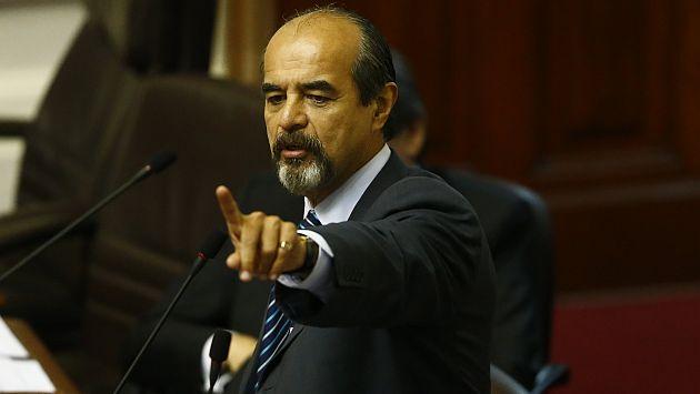 Mauricio Mulder se pronunció sobre Enrique Cornejo. (Luis Centurión)