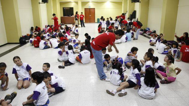 Los talleres de verano son muy solicitados por los padres para sus hijos. (USI)