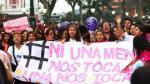 Ni Una Menos: Nueva ley castigará el feminicidio hasta con cadena perpetua - Noticias de municipalidad de los olivos