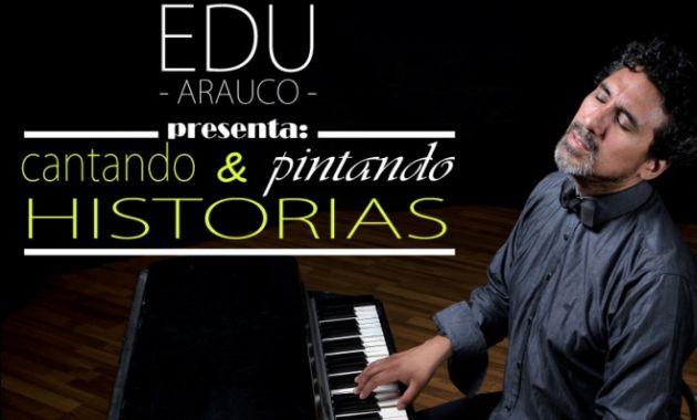 Edu Arauco presenta el concierto 'Cantando & pintando historias' (Difusión).
