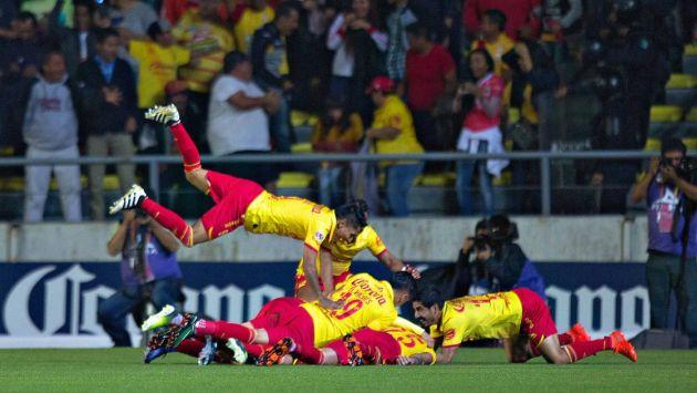 Raúl Ruidíaz anotó en la victoria 2-0 del Monarcas Morelia sobre el Tijuana. (@FutgolHn )