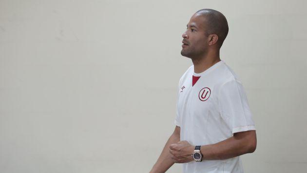 No se mueve. Finalmente, Alberto Rodríguez se quedará en Universitario para cumplir su contrato. (USI)