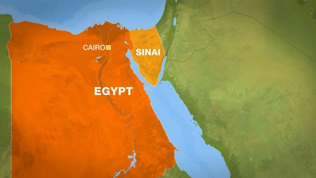 El ataque ocurrió al este del Sinaí. (Al Jazeera)