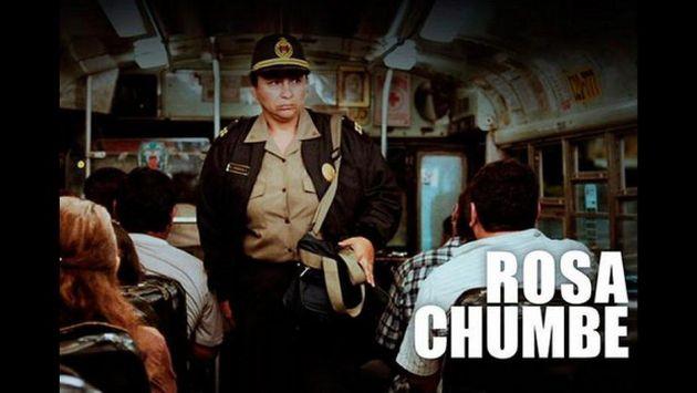 La película narra la vida de la oficial de Policía Rosa Chumbe. (Difusión)
