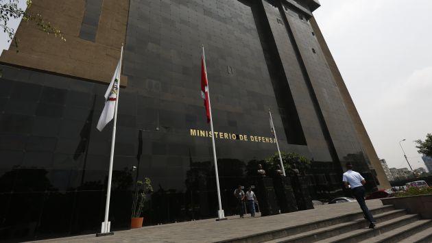 Investigación. El Mindef encargó informe a Bernales. (Anthony Niño de Guzmán/Perú21)