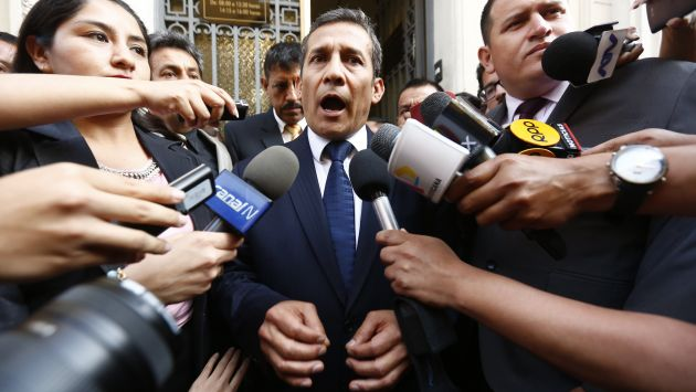 Investigado. El ex presidente Ollanta Humala figura en calidad de investigado por el presunto delito de lavado de activos.  (Piko Tamashiro)