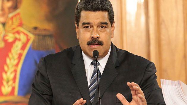 """Responde. Nicolás Maduro advirtió a la oposición de """"atenerse a las consecuencias"""" tras decisión del Congreso. (EFE)"""
