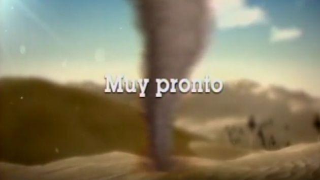 Latina lanzó campaña de intriga con la novela 'Torbellino'. (Captura de TV)