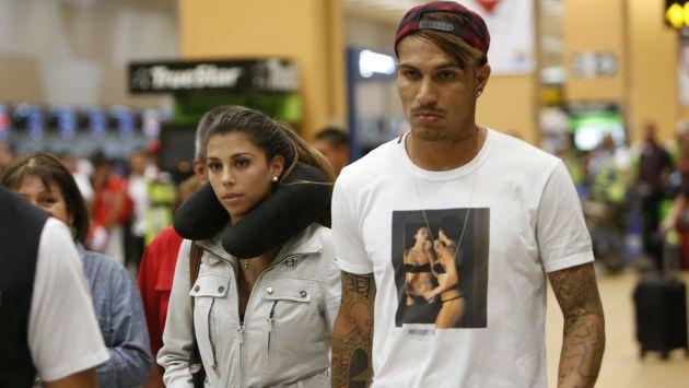 Paolo Guerrero se refirió a los rumores del fin de su relación con Alondra García Miró. (Perú21)
