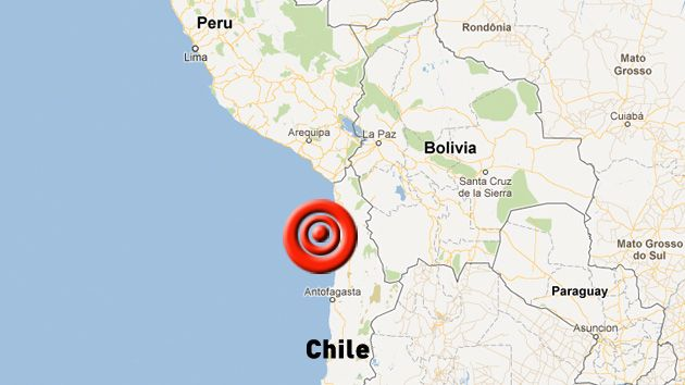 Chile: Se registró sismo de 5.9 grados en Antofagasta. (Difusión)