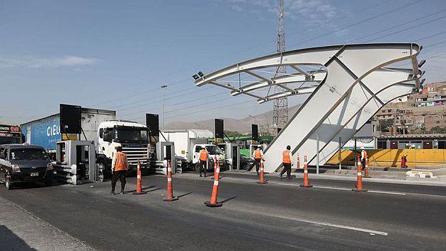 Municipalidad de Lima suspendió cobro de peaje en Puente Piedra por 30 días. (USI)