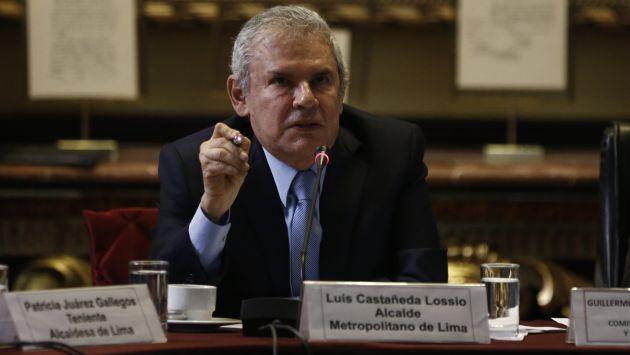 Luis Castañeda se pronunció sobre la suspensión de peaje en Puente Piedra. (Renzo Salazar/Perú21)
