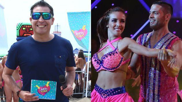 'Carloncho' concilió con bailarín de Rosángela Espinoza tras agredirlo con una correa. (USI)
