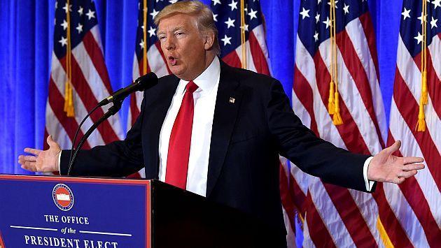 Donald Trump anunció construcción del muro con México y quiere cobrarlo con impuestos a mexicanos. (AFP)