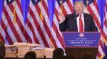 Donald Trump arremetió contra medios de prensa durante conferencia - Noticias de hillary clinton