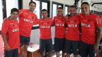 Miguel Trauco se sumó a los entrenamientos del Flamengo al lado de Paolo Guerrero - Noticias de brasil