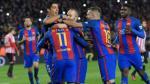Barcelona venció 3-1 al Athletic de Bilbao y clasificó a los cuartos de final de la Copa del Rey. (AFP)