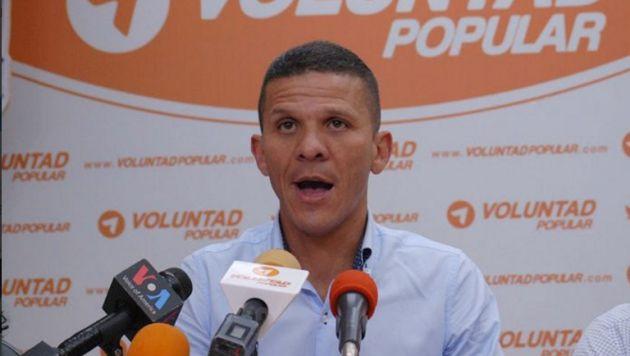 "¿Persecución? El congresista Gilber Caro fue detenido por integrar un grupo ""desestabilizador"". (Twitter/José Trujillo)"