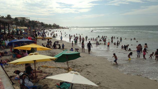 ¿Playa infectada? Análisis microbiológico determinó que Máncora es una ensenada insalubre. (Perú21)