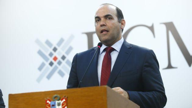 Prueba de fuego. Fernando Zavala intentará despejar las dudas. (Luis Centurión/Perú21)