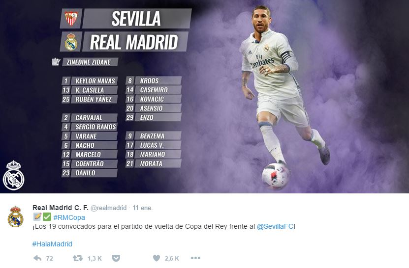 Real Madrid vs. Sevilla EN VIVO
