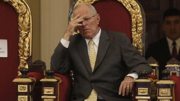 PPK: Aprobación del mandatario cayó a 43% en enero, según Ipsos. (Piko Tamashiro/Perú21)
